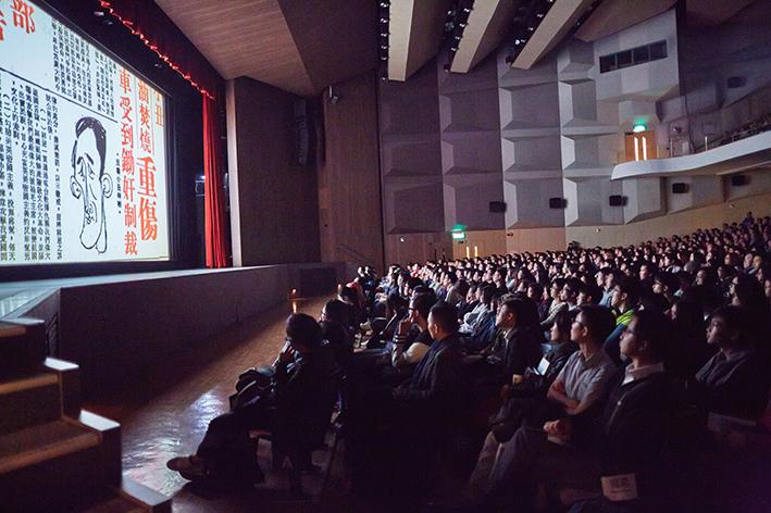 《消失的檔案》3月初在中大首映,邵逸夫堂1400座位坐無虛席。