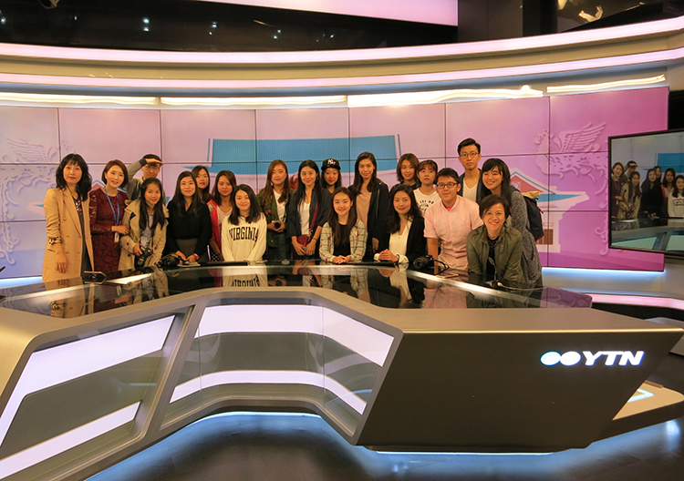 參觀YTN24小時國際新聞頻道